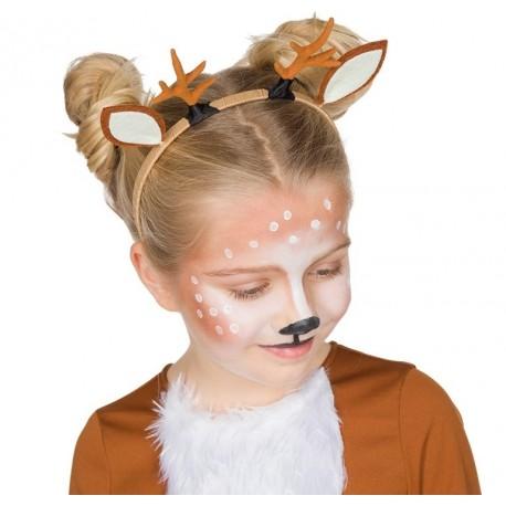 Serre-tête oreilles de faon (cerf) enfant