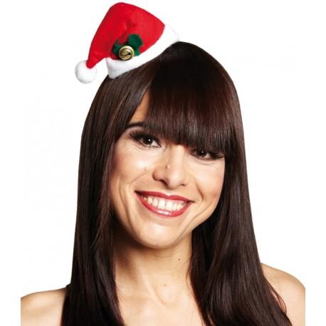 Mini bonnet de Noël femme