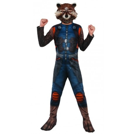 Déguisement Rocket Raccoon™ garçon les Gardiens de la galaxie™