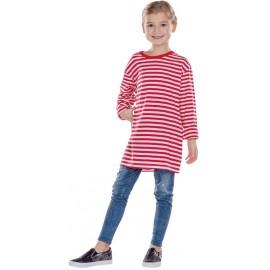 Déguisement T-Shirt rayé rouge blanc enfant