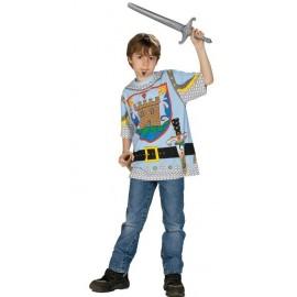 Déguisement T-Shirt chevalier garçon