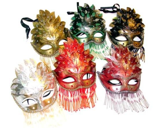 Masque loup de venise 1001 nuits masque venitien - Masque de loup a fabriquer ...