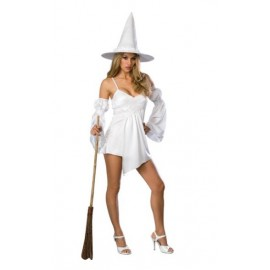 Déguisement sorcière femme magie blanche
