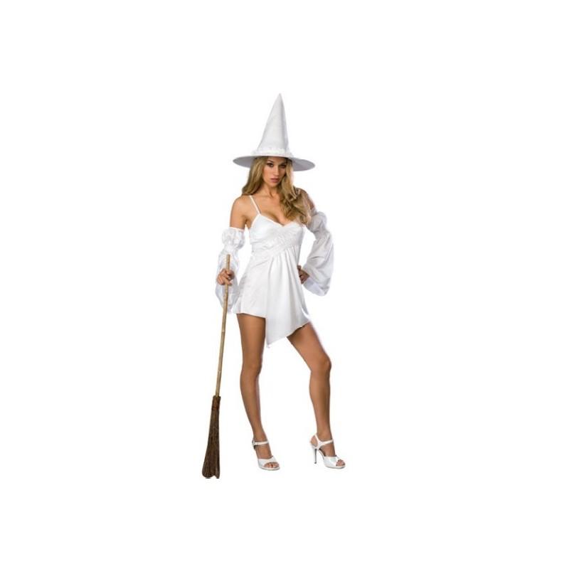 d guisement sorci re femme magie blanche achat d guisement halloween. Black Bedroom Furniture Sets. Home Design Ideas