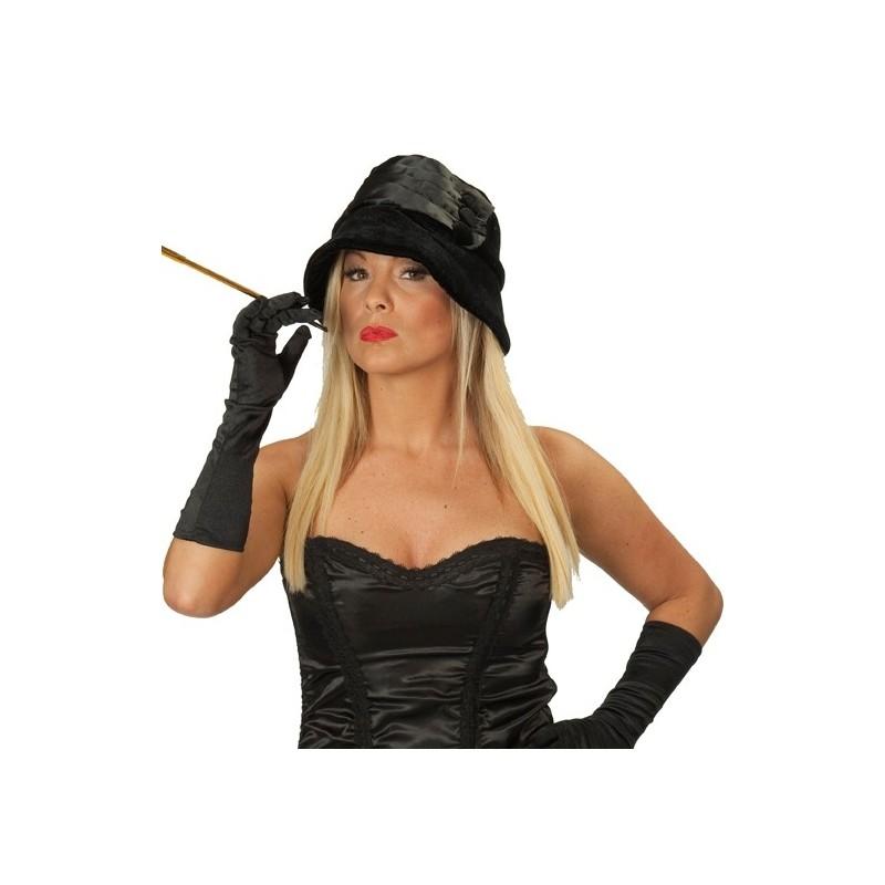chapeau charleston noir femme ann es 20 39 s 30 39 s. Black Bedroom Furniture Sets. Home Design Ideas