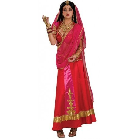 Déguisement Bollywood Beauté Deluxe Femme