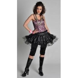 Déguisement Cindy Rock Star 80's Deluxe Femme