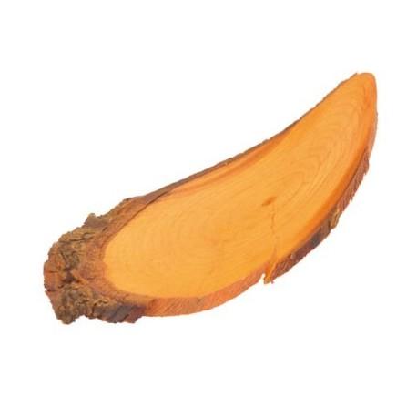 Languettes de bois orange