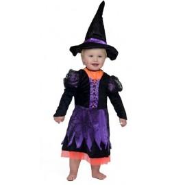 Déguisement petite sorcière fille Halloween