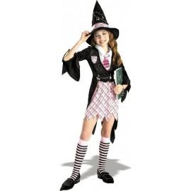 Déguisement sorcière étudiante fille