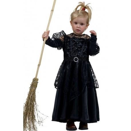 Deguisement gothique sorciere deluxe enfant