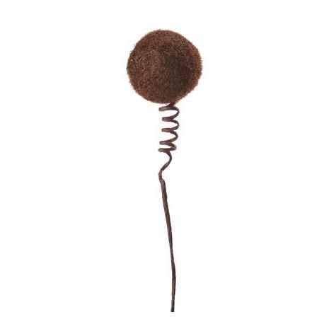 Tige Boule Chocolat Sur Ressort