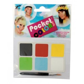 Maquillage Pocket Colors de Fête Adulte et Enfant + 3ans