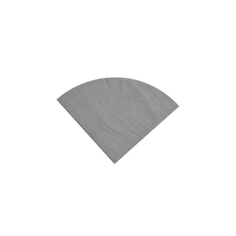 serviette de table ronde en papier les 20. Black Bedroom Furniture Sets. Home Design Ideas