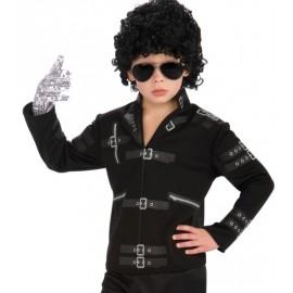 Déguisement Michael Jackson enfant veste Bad