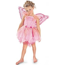 Déguisement Fée Pixie Rose Enfant