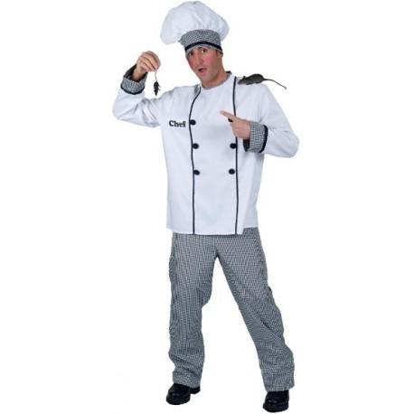 Déguisement Chef Cuisinier Ramses Adulte