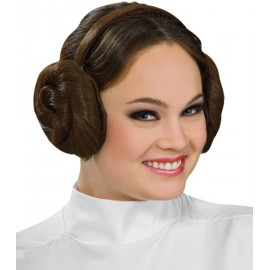 Serre tête Princesse Leia Star Wars (Headband With Hair Buns)