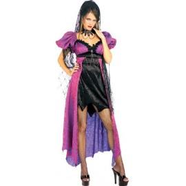 Déguisement Gothique Spider Widow Femme