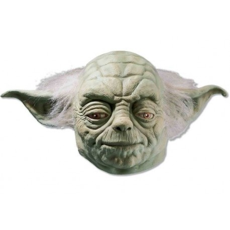 Masque Yoda Star Wars Deluxe en Latex Adulte et Ados