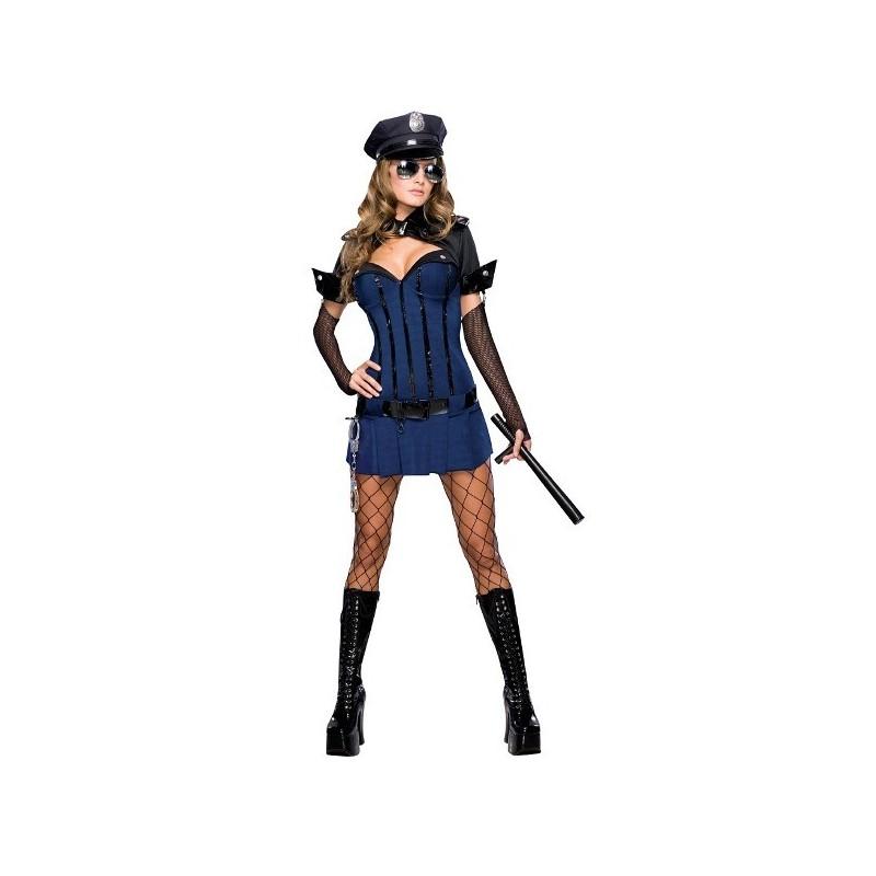 d guisement agent de police night watch femme d guisement polici re. Black Bedroom Furniture Sets. Home Design Ideas
