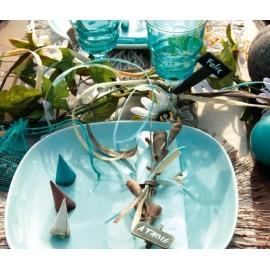 Petits Cornets décoratifs en bois 4 cm (40 cornets environ)
