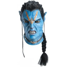 Masque Avatar Jake Sully Latex Deluxe Adulte