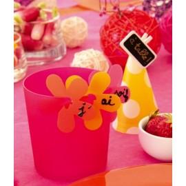 Clips Déco Fleur Les 24 Attaches Fleurs 5 cm