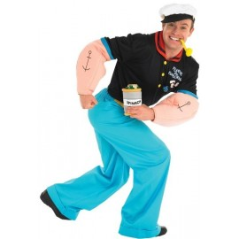 Déguisement Popeye le marin adulte luxe