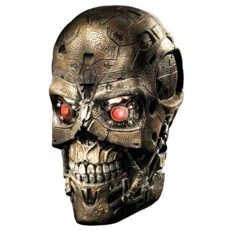Masque Terminator Salvation T600 Latex Deluxe Adulte