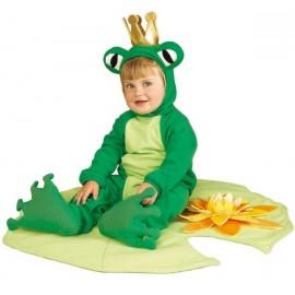 Déguisement prince grenouille bébé