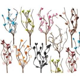 Piquet de Fleur Zen Perlé 14 cm