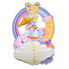 Decoration baby shower baby dreams en carton