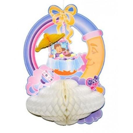 Decoration baby shower baby dreams en carton