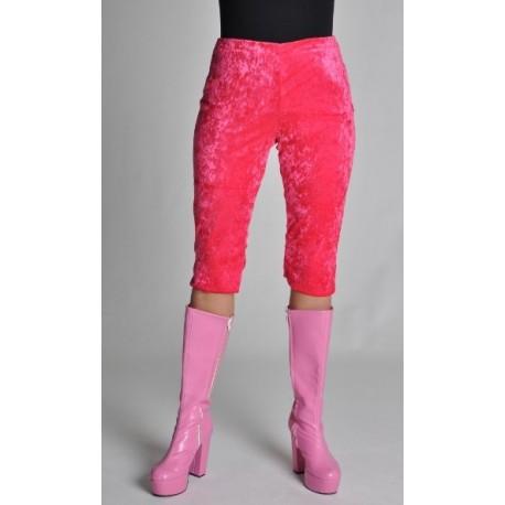 Déguisement Legging Court Pink De Luxe Femme