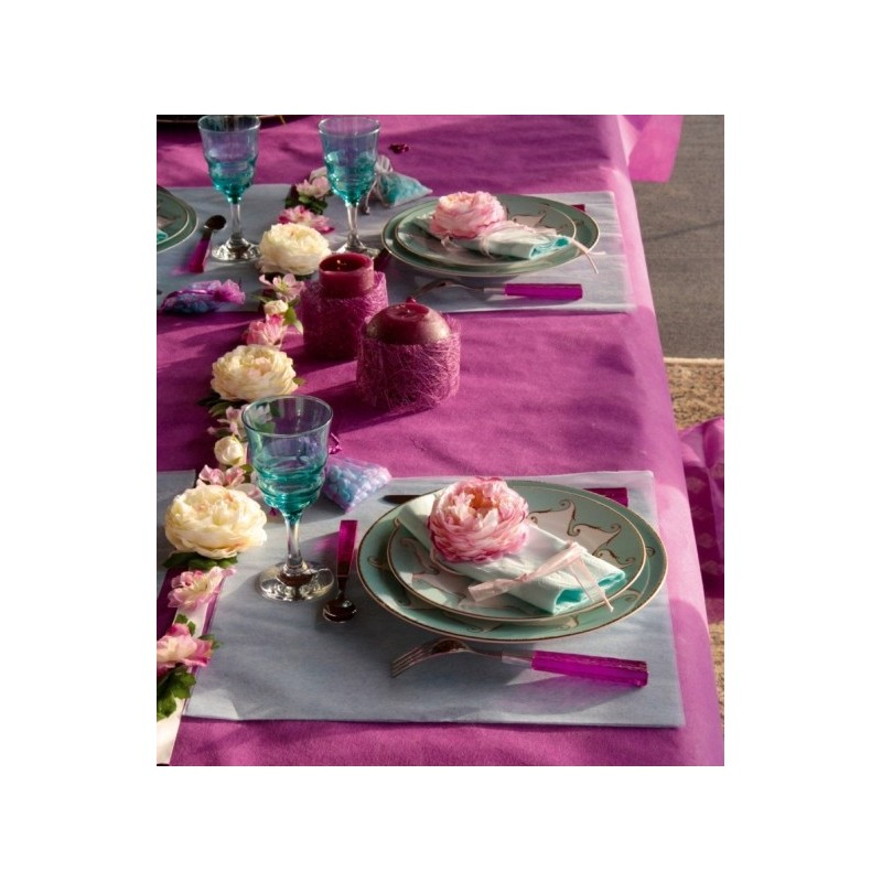 Set de table carr intiss tissu non tiss les 50 - Set de table intisse ...
