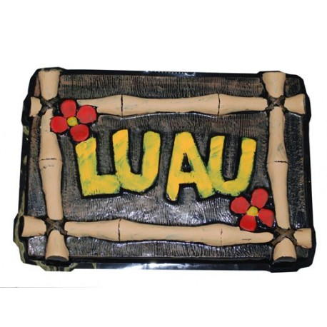 Decoration Hawaii Luau Murale 55 cm