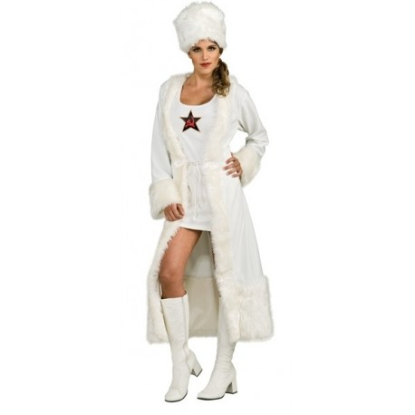 Deguisement russe white russian deluxe femme