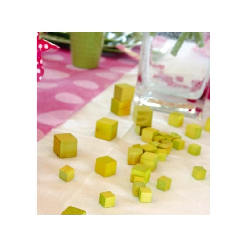 cubes en bois couleur de d coration les 30. Black Bedroom Furniture Sets. Home Design Ideas