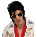 Lunettes Elvis Presley Or Adulte (sous licence Elvis)