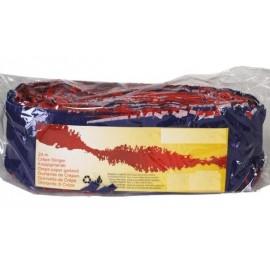 Guirlande Bleu Blanc Rouge Papier Crépon 24 Mètres