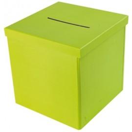 Tirelire neutre vert anis geante 30 cm maries et fete