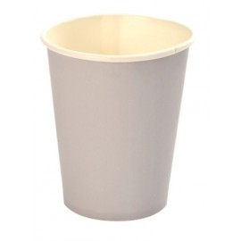 Gobelet carton argent uni gobelet jetable