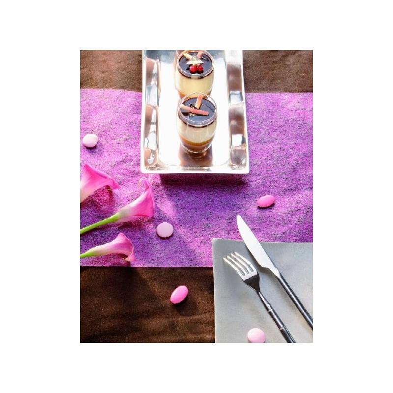 chemin de table intiss 10 m pas chre dco de table - Chemin De Table Color