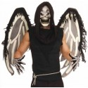 Ailes Squelette Angel Of Death, Masque, Gants Adulte