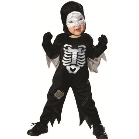 Déguisement squelette bébé Halloween