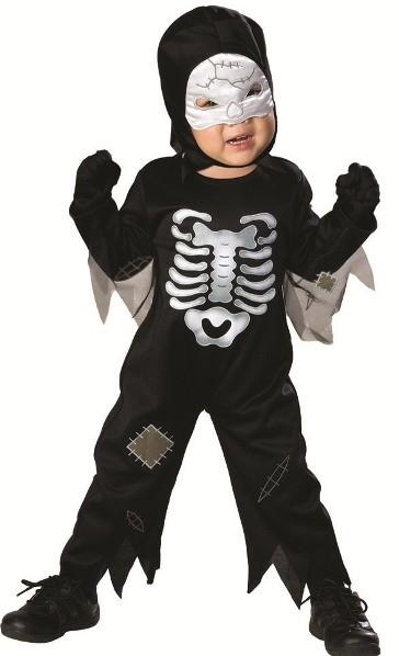 d guisement squelette b b halloween d guisement b b gar on halloween. Black Bedroom Furniture Sets. Home Design Ideas