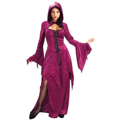 Deguisement gothique Burgundy Vampira femme