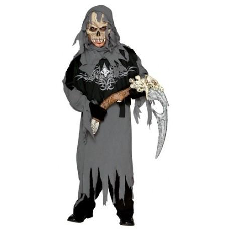 Déguisement Grim Reaper Enfant Garçon avec Masque