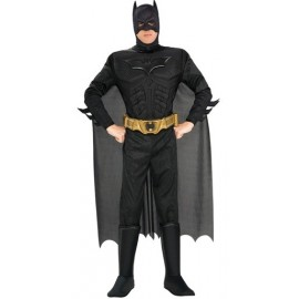 Deguisement batman dark knight muscle deluxe adulte